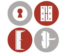 Blum Exzenter-Kreuzmontageplatte für Mittelanschlag mit vormontieren Spezialschrauben